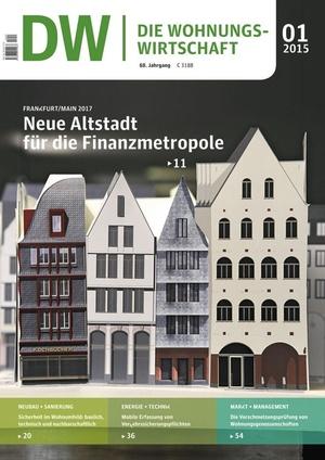 Die Wohnungswirtschaft Ausgabe 1/2015 | Wohnungswirtschaft