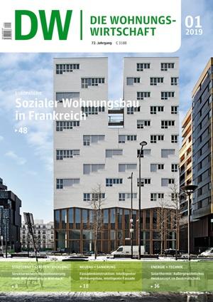 Die Wohnungswirtschaft Ausgabe 1/2019 | Wohnungswirtschaft