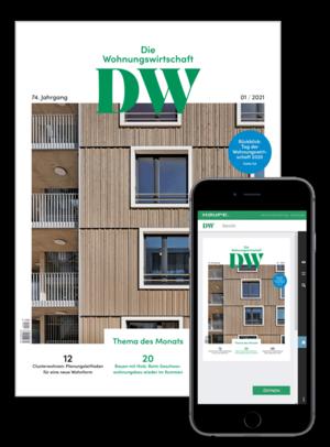 Die Wohnungswirtschaft Ausgabe 01/2021 | Wohnungswirtschaft