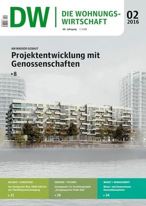 Die Wohnungswirtschaft Ausgabe 2/2016 | Wohnungswirtschaft