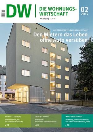 Die Wohnungswirtschaft Ausgabe 2/2017   Wohnungswirtschaft
