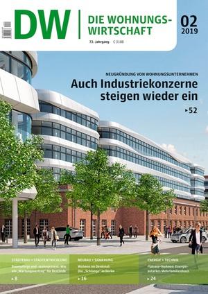 Die Wohnungswirtschaft Ausgabe 2/2019 | Wohnungswirtschaft