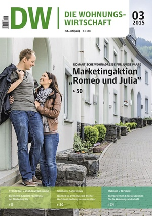 Die Wohnungswirtschaft Ausgabe 3/2015 | Wohnungswirtschaft