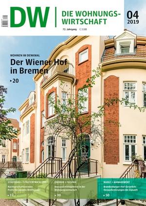 Die Wohnungswirtschaft Ausgabe 4/2019 | Wohnungswirtschaft