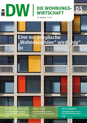 Die Wohnungswirtschaft Ausgabe 5/2016 | Wohnungswirtschaft