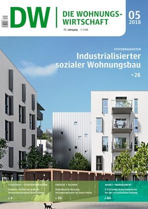 Die Wohnungswirtschaft Ausgabe 5/2018 | Wohnungswirtschaft