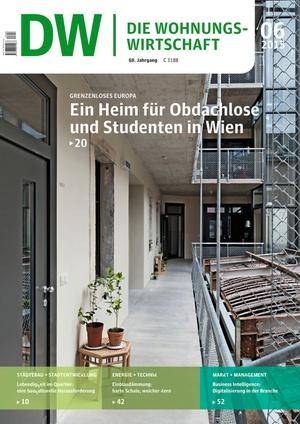 Die Wohnungswirtschaft Ausgabe 06/2015 | Wohnungswirtschaft