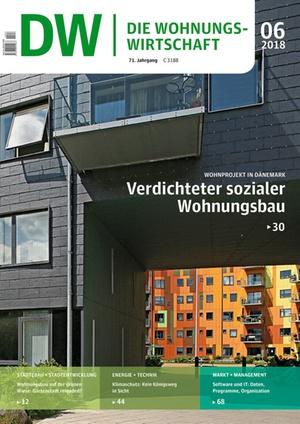 Die Wohnungswirtschaft Ausgabe 6/2018 | Wohnungswirtschaft