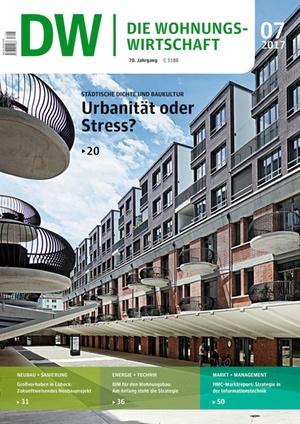 Die Wohnungswirtschaft Ausgabe 7/2017 | Wohnungswirtschaft