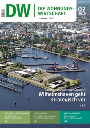Die Wohnungswirtschaft Ausgabe 7/2019 | Wohnungswirtschaft