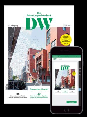 Die Wohnungswirtschaft Ausgabe 7/2020 | Wohnungswirtschaft