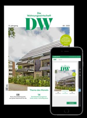 Die Wohnungswirtschaft Ausgabe 8/2020 | Wohnungswirtschaft