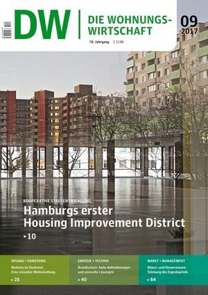 Die Wohnungswirtschaft Ausgabe 9/2017   Wohnungswirtschaft