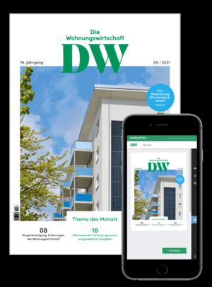 Die Wohnungswirtschaft Ausgabe 09/2021 | Wohnungswirtschaft