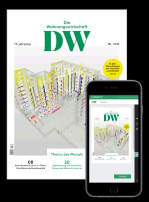 Die Wohnungswirtschaft Ausgabe 10/2020   Wohnungswirtschaft