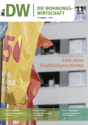 Die Wohnungswirtschaft 11/2014 | Wohnungswirtschaft
