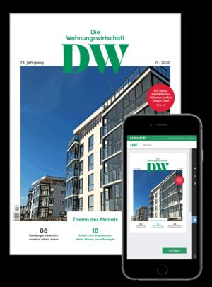 Die Wohnungswirtschaft Ausgabe 11/2020 | Wohnungswirtschaft