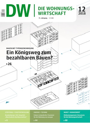Die Wohnungswirtschaft Ausgabe 12/2018 | Wohnungswirtschaft