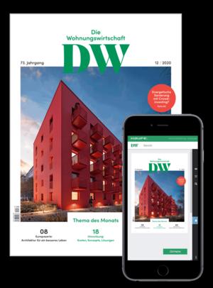 Die Wohnungswirtschaft Ausgabe 12/2020   Wohnungswirtschaft