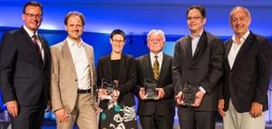 Auszeichnung: DW-Zukunftspreis der Immobilienwirtschaft verliehen