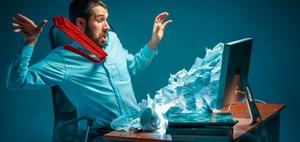 Prävention: Belastungsfaktoren bei digitaler Arbeit