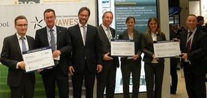 EBZ Business School ehrt Nachwuchskräfte auf der Expo Real