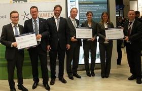 EBZ Business School Absolventen auf EXPO REAL geehrt