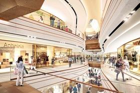 ECE-Innenraumkonzept Singen Shopping-Center