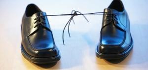 Kleines Schuhregal im Treppenhaus kann zulässig sein