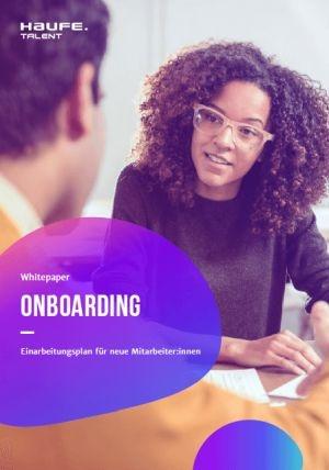 Kostenlose Arbeitshilfe: Einarbeitungsplan Onboarding