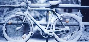 Wegerisiko: wegen Schnee und Eis zu spät zu Arbeit