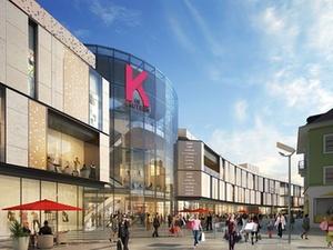 """Einkaufszentrum """"K in Lautern"""" kurz vor Baubeginn"""