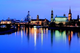 Elbufer, Dresden, Deutschland