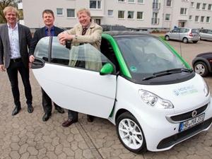 Elektroautos sollen im Straßenverkehr bevorzugt werden