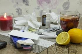 Erkältung Schnupfen krank
