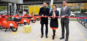 E-Mobilität: BVG und Gewobag eröffnen ersten Hub in Berlin