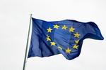 EU-Flagge im Wind