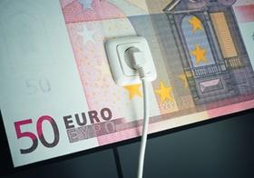 Euro-Schein mit Steckdose_Förderung