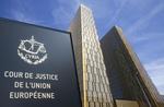 Europäischer Gerichtshof vor blauem Himmel