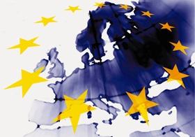 Europasterne Weltkarte