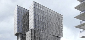 Frankfurt: Europaviertel bekommt 60-Meter-Büroturm