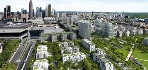 """GSP startet Bau des Wohnturms """"Tower 2"""" in Frankfurt"""
