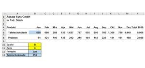 Excel-Formel INDIREKT: Dynamische Zellen- und Bereichsbezüge