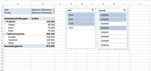 Excel Video Tipp: Filter in Pivot-Tabellen sichtbar machen