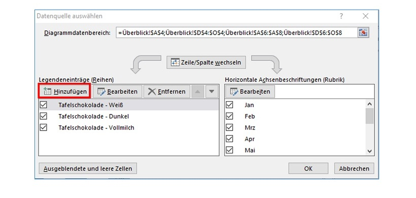 Excel tipp diagramme mit gestapelten sulen erstellen controlling exceltipp182 ccuart Images