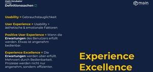 Der Weg von Experience Excellence zur Finance Excellence