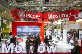 Expo Real 2013 Messestand Moskau, Russland