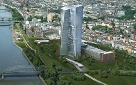 EZB-Doppelturm Visualisierung