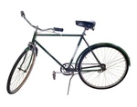 Fahrrad, stehend