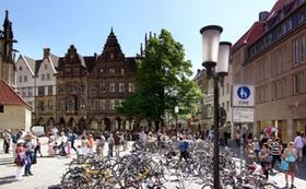 Fahrräder in Münster